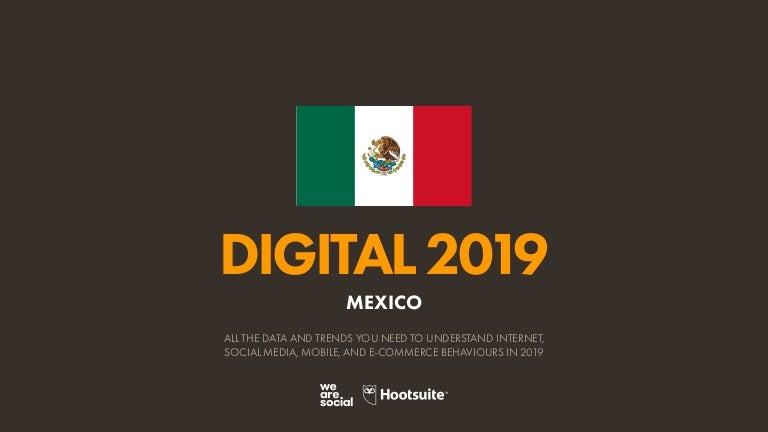 Digital 2019 Mexico (EN) (January 2019) v01
