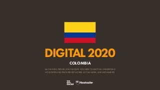 Digital 2020 Colombia (January 2020) v01