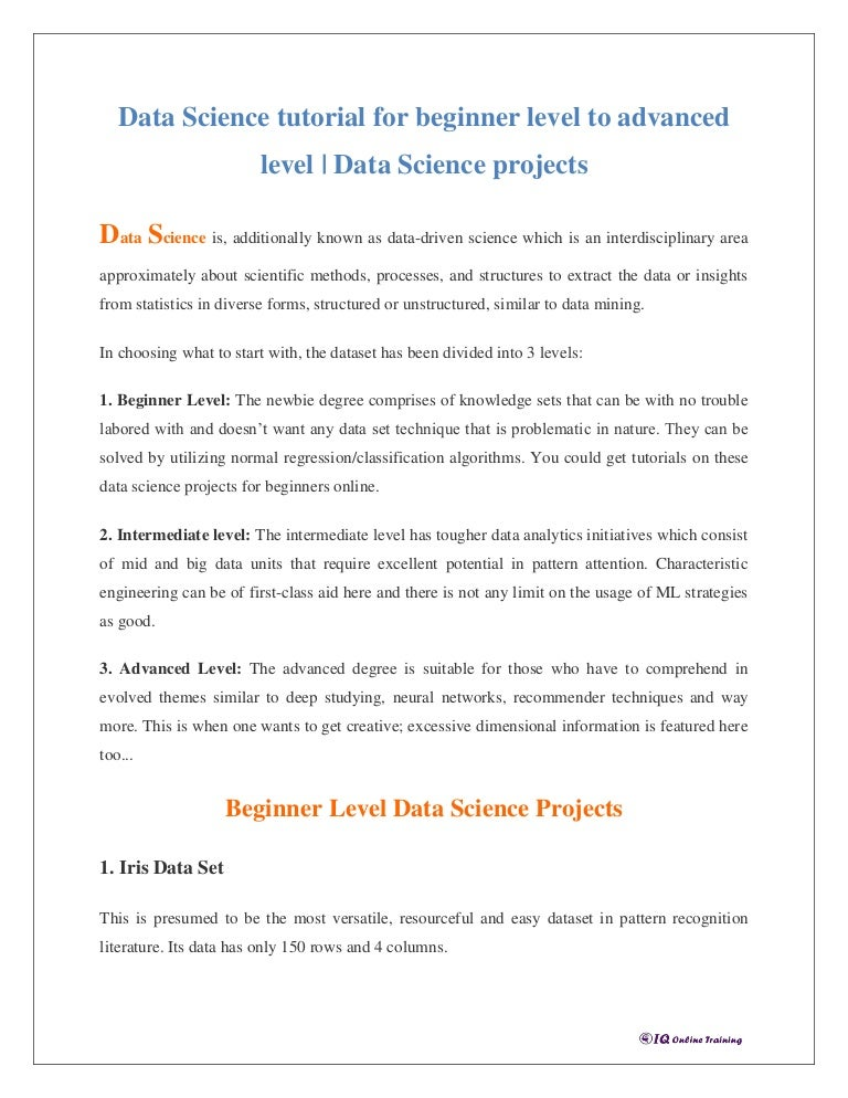 Data Mining Tutorial For Beginners Pdf