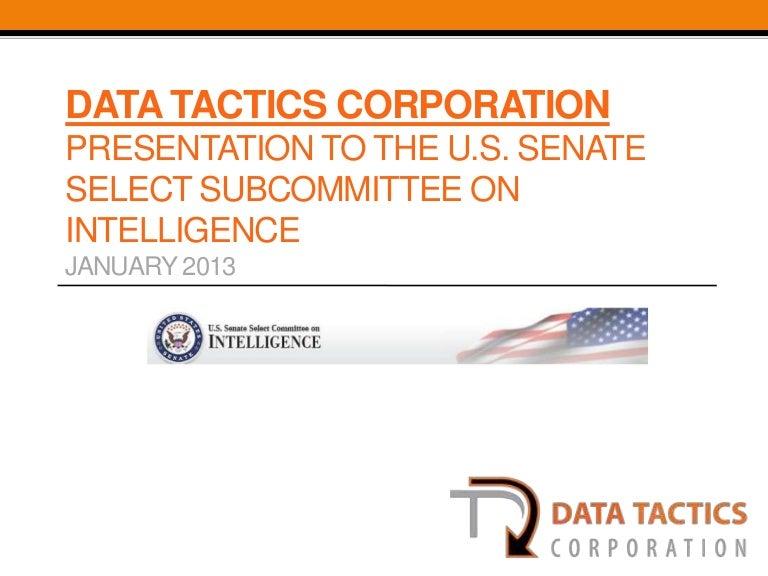 Data Tactics Open Source Brief