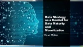 """Dynamic Talks: """"Data Strategy as a Conduit for Data Maturity and Monetization"""" -Miguel Medina"""