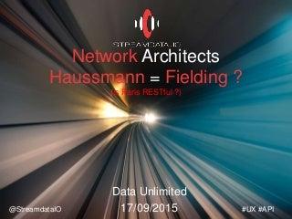 #DataUnlimited - Haussmann = Fielding ?