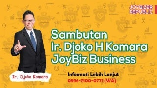PELUANG BISNIS!! 0818-2040-55 (YOGIES), Produk Mlm Joybiz Muaro Jambi