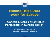 EDF2014: Marta Nagy-Rothengass, Head of Unit Data Value Chain, Directorate General for Communications Networks, Content and Technology: Towards a Data Value Chain Partership in Europe