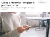 Dating a millennial – the path to purchase model