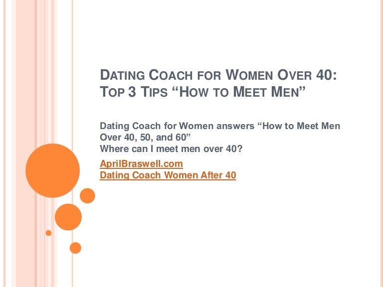 how to meet men over 40