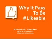 Why It Pays To Be Likeable