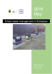 Smart waste management in Schiedam