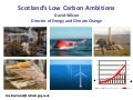 David Wilson | Scotland's Low Carbon Ambitions
