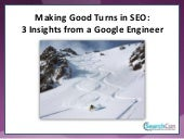 SearchCon 2016 | 3 Insights from a Google Engineer with David Yarian