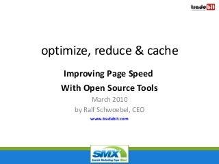 Simple Site Speed Improvements (SMX 2010)