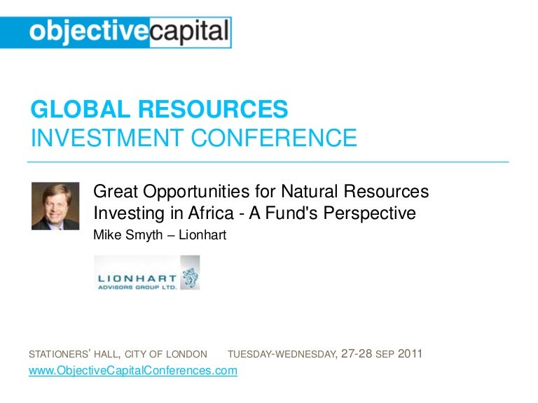 Great Opportunities for Natural Resources Investing in