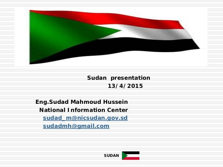 sudan case study Research methods are being applied in sudan case studies to evaluate the performance of these sl and em measures based on the production of a sl conceptual framework.