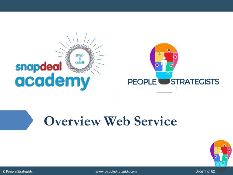 Overview of web services