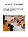 Day Care | Shri Ram Global School