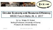 WEEE Forum Conference_Day One_Walter Stahel