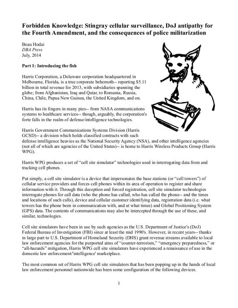 Dba forbidden-knowledge-stingray-july-2014