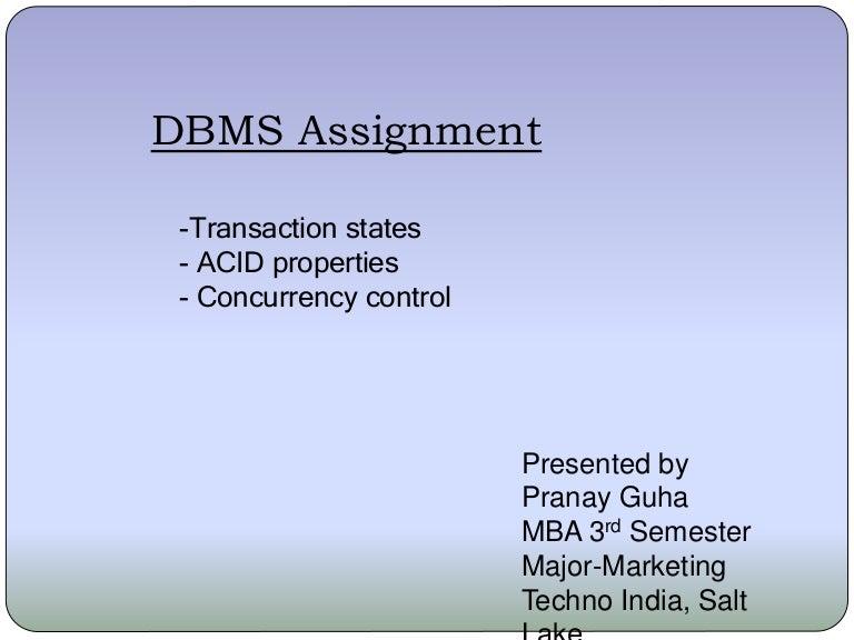 Database management system (dbms) |authorstream.