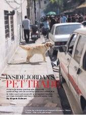Inside Jordan's Pet Trade
