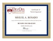 Miguel A. Rosado-DevOpsInstitute_DevOps_Instructor_Certification