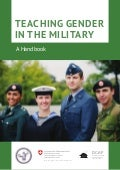DCAF PFPC Teaching Gender in the Military - Handbook