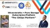Make stateful apps in Kubernetes a no brainer with Pure Storage and GitOps