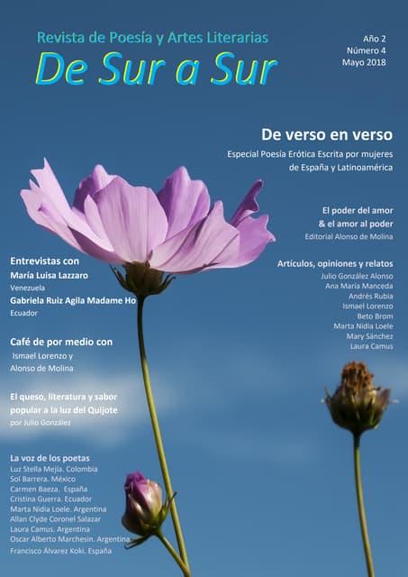 De Sur a Sur Revista de Poesía y Artes Literarias Año II- Nº 004 Mayo 2018