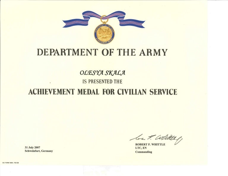 Certificate of achievement army form ozilmanoof certificate of achievement army form yelopaper Images