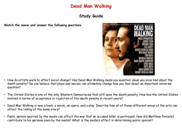 Essays movie dead man walking sample essay for the ged test