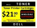 """How can I start my own profitable inkjet laser toner printer cartridge refilling business?"" Without Machines or Franchise.Dealers wanted dell laser toner printer cartridges nditc wholesale factory warehouse $21.00 each start your own small business"