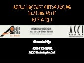 Agile Project Outsourcing - Dealing with RFP and RFI