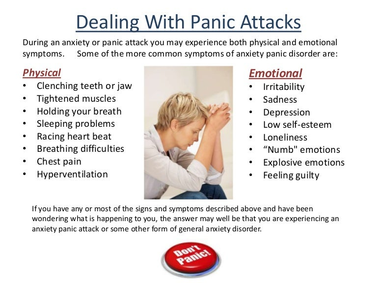 How do you cure anxiety and panic attacks