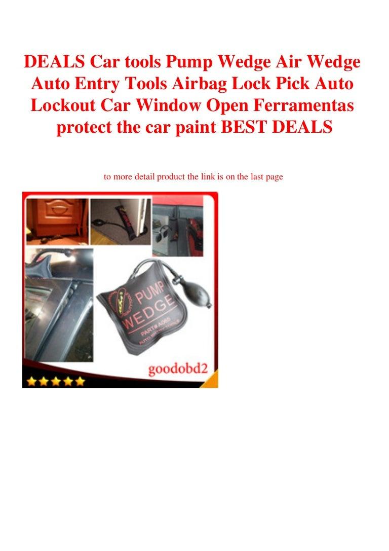Deals Car Tools Pump Wedge Air Wedge Auto Entry Tools Airbag Lock Pic