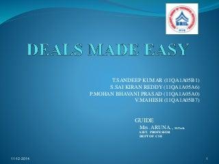 Deals made easy- Online Shopping Kart -Java,Jsp,JDBC
