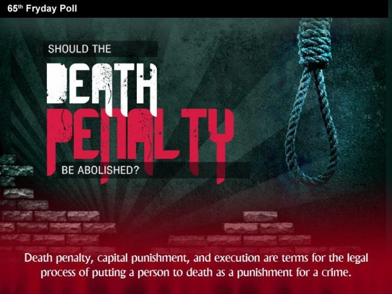 essay on death penalty should not be abolished