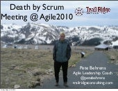 Death by Scrum Meeting Agile2010
