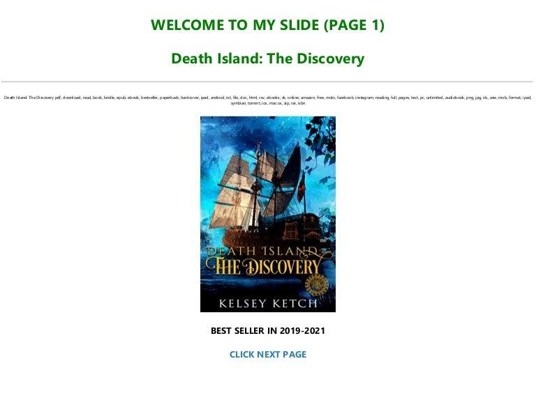 Free Read [PDF] Books Death Island: The Discovery Pre Order