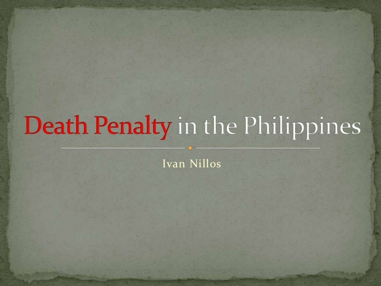 reflection paper death penalty The ethics of capital punishment- playing the numbers game in an april 24, 1992 column in the washington post , charles krauthammer voiced a prevalent argument against the death penalty — the lack of available statistics to verify deterrence.