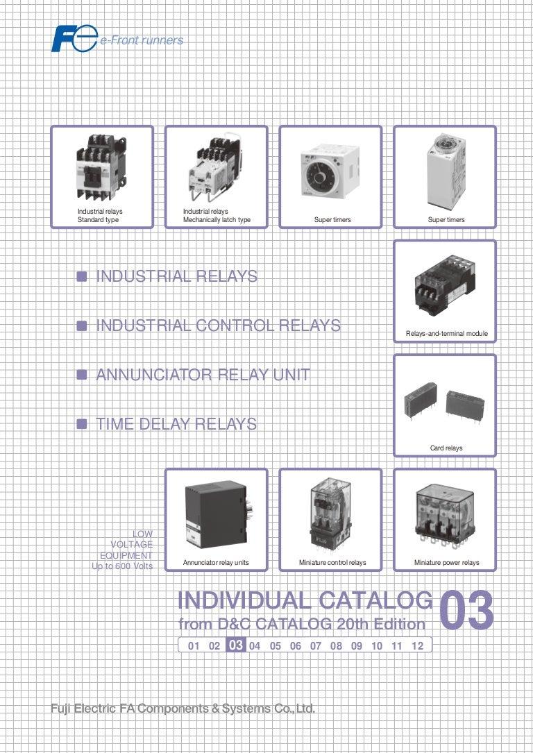 03 Control Relays Timer Fuji Electric St81 Solenoid Wiring Diagram