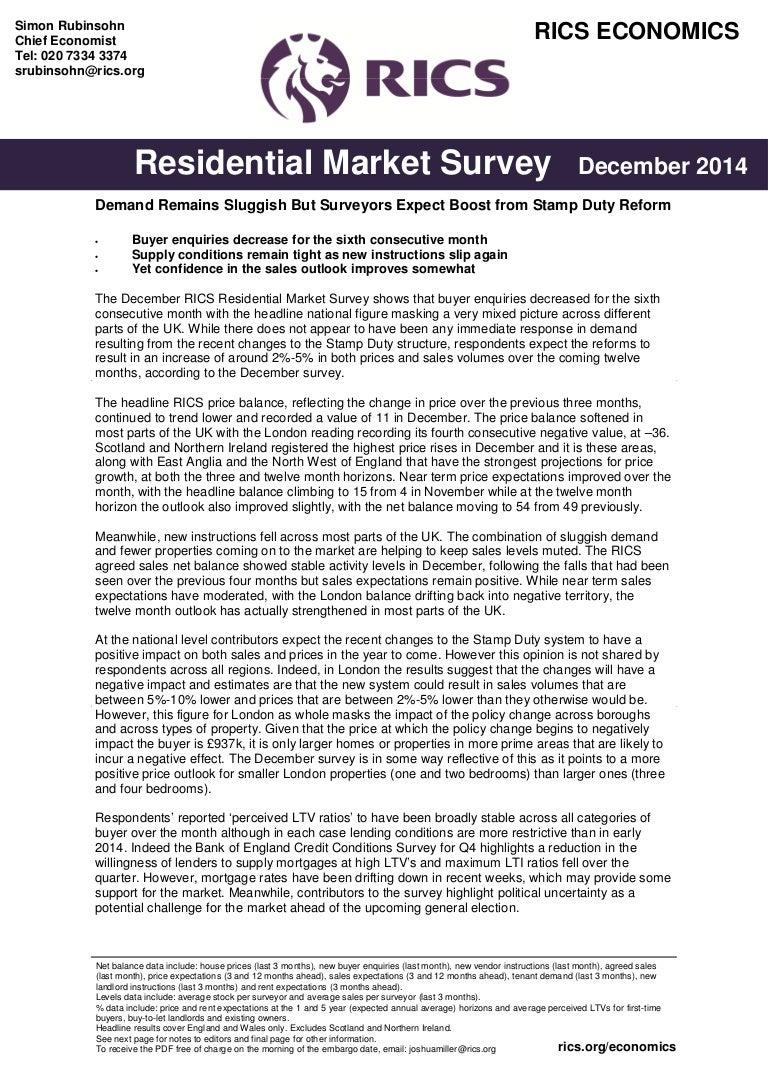 f05ec1dad88e Dec 2014 rics uk residential market survey