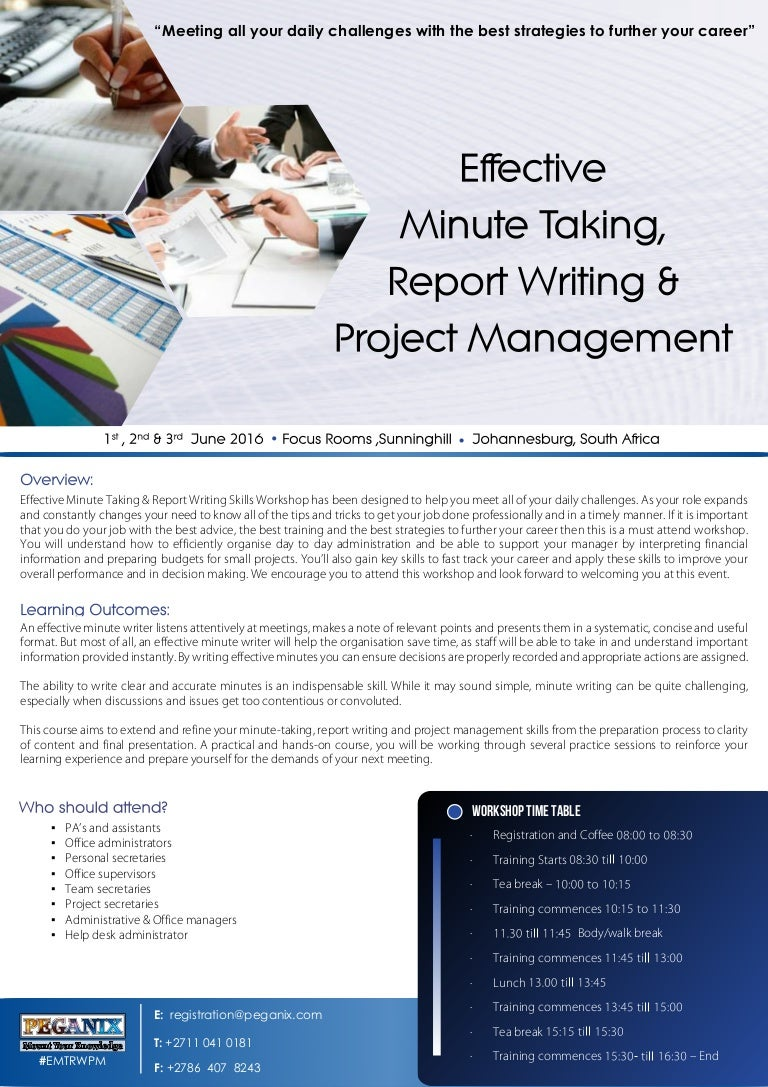 technical report writing skills Technical report writing (online)the online training option, available to you anytime, anywhere concise, consolidated training programmes suitable for those with time, location and/or financial constraints who are still wishing to benefit from ice's high standard of training for professional development.