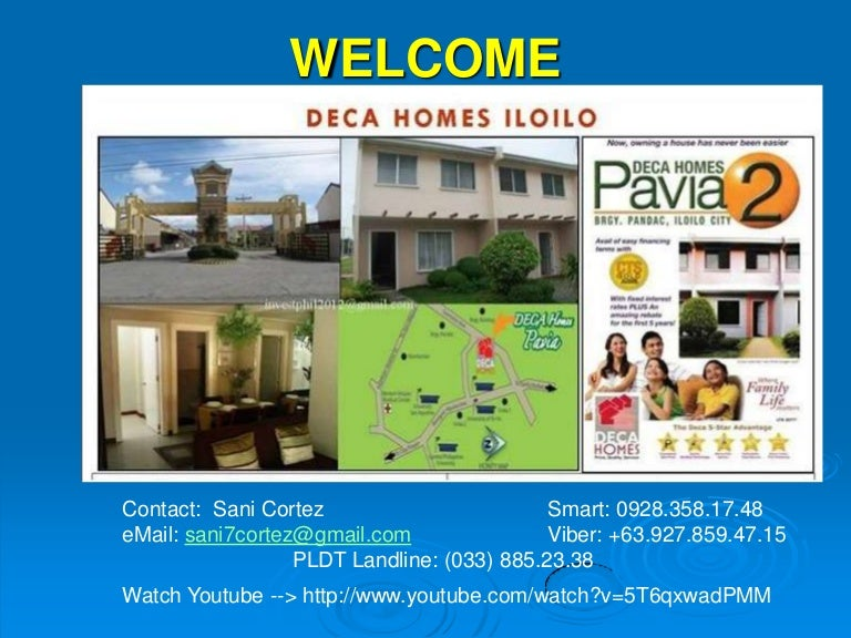 rent to own easy to get deca homes iloilo contact sani7cortez gmail