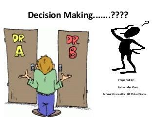 decision making linkedin