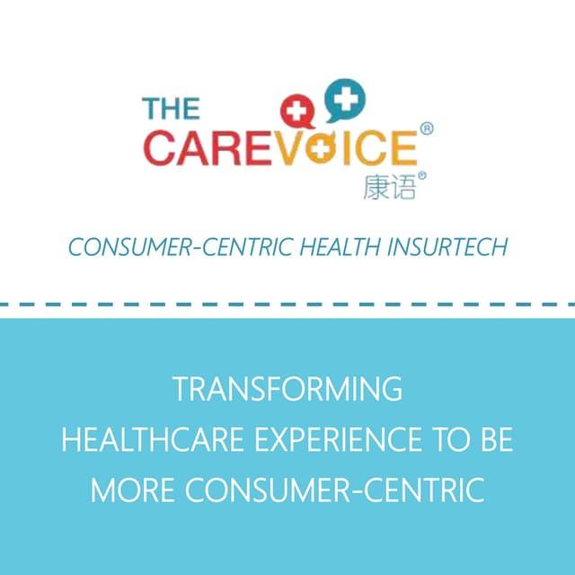 Startup InsurTech Award - The Carevoice