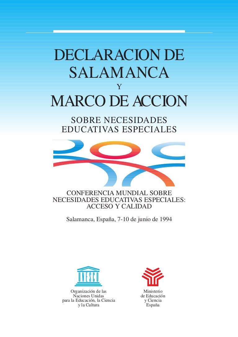 Declaración Salamanca