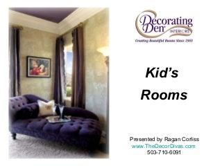 Decorating Kid's Rooms