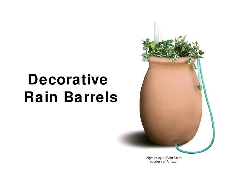 decorative rain barrels cheap easy - Decorative Rain Barrels