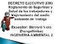 Decreto ejecutivo 2393 Ecuador