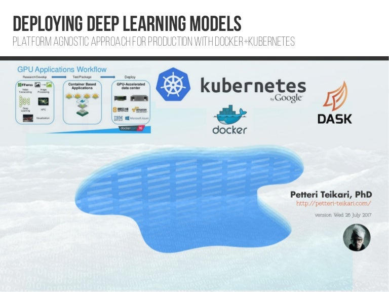 Deploying Deep Learning Models With Docker And Kubernetes