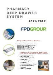 FPD Pharmacy Drawer System